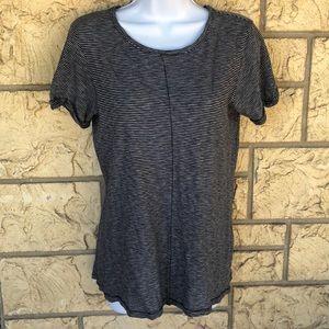 Rag & Bone Jeans Top Black & White Striped Size XS